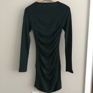 Express Dresses - Express long sleeve dress — green